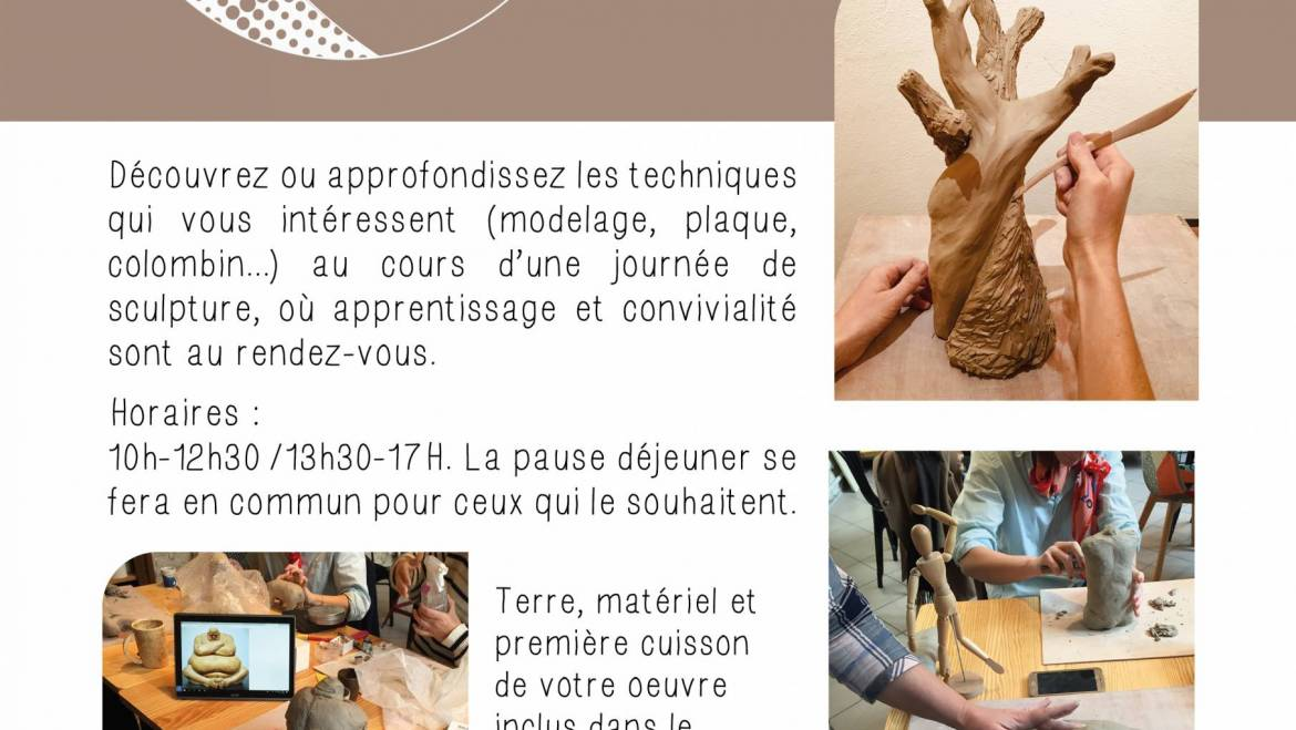 Stages de sculpture adultes